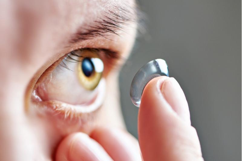 Očné šošovky