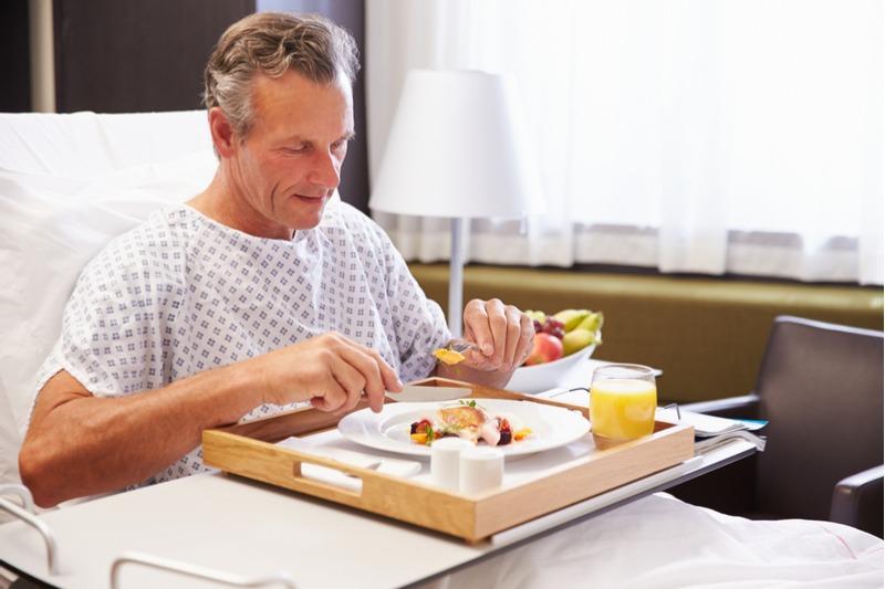 Strava v nemocnici
