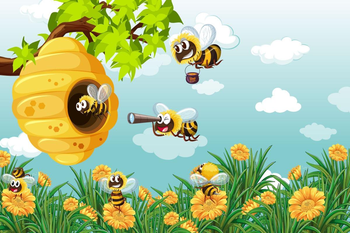 Koľko očí majú včely?